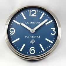 Officine PANERAI LUMINOR Showroom Advertising Wall Clock for Authorized Dealers.