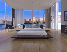 The Kenji Collection Bedroom by Modani Furniture