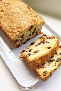 Mixed Fruit Loaf Cake - Feasting Is Fun Cupcake Recipes, Baking Recipes, Cupcake Cakes, Tea Cakes, Baking Ideas, Pie Recipes, Cupcakes, Light Fruit Cake Recipe, Coconut Loaf Cake