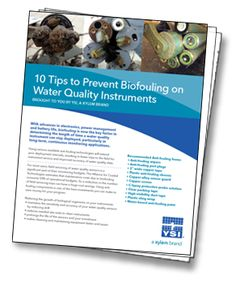 Biofouling is now the key factor in determining the length of time a #waterquality instrument can stay deployed, particularly in long-term, continuous monitoring applications.  This ebook highlights simple anti-fouling technologies that: Protect your equipment from biofouling Result in fewer trips to the field for instrument service Improve the accuracy of your water quality data and more... http://info.xyleminc.com/Antifouling-eBook_AntifoulingEBook.html?pinterest
