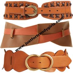 Fashion wide belts for women - Just For Trendy Girls