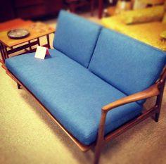 Awesome refurbished Ib Kofod for Selig Danish sofa Danish Sofa, Mod Furniture, Mid-century Modern, Mid Century, Decoration, Awesome, Diy, Home Decor, Decor