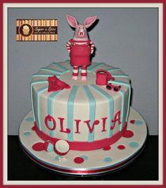 Olivia Pig Cake Cake by Sugar & Spice