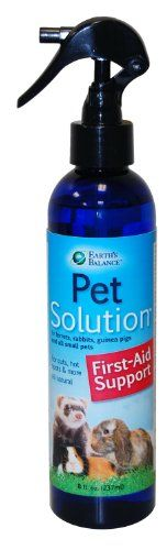 Pet Solution is a non-toxic cleansing agent for first-aid support for all pets. It is safe and all-natural. Made with Electrolyzed Oxidizing Water which increases the amount of oxygen to the wound sit...