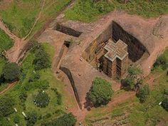 Bet Giorgis (Ethiopië) - De indrukwekkendste uit steen gehouwen monumenten ter wereld