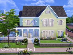 Built in NewCrest on a 30x30 lot, this 2 bedrooms and 2 bathrooms can easily accommodate a family of 4.  Found in TSR Category 'Sims 4 Residential Lots'