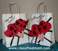 Valentine Card Holders  Holidays  Winter  Pinterest
