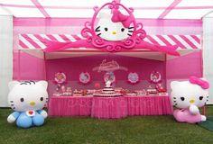 Hello Kitty party by Carolina Chong