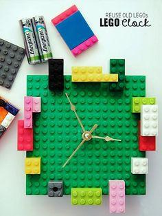 DIY_Lego Clock