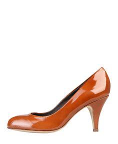 Arnaldo toscani - scarpe donna - décolletées tomaia in vera pelle, di vernice - suola interna: pelle - suola: gomma - ta - Decolletè donna Marrone