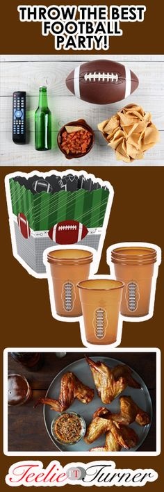 Bring You're A Game How to Throw an Exceptional Football Party...Host it: www.teelieturner.com Everyone's getting their A game on for this football season! Join the fun by hosting your very own football party. #tailgate