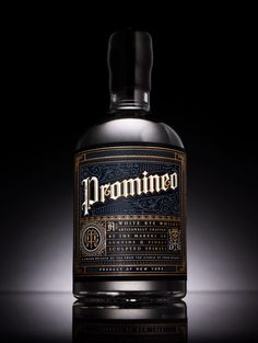 Promineo Whiskey — Chad Michael Studio, NY Homie doing work!