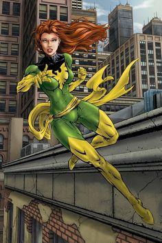Marvel Comic Character, Comic Book Characters, Marvel Characters, Marvel Xmen, Marvel Dc Comics, Marvel Universe, Jean Grey Phoenix, Dark Phoenix, Marvel Girls