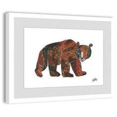 Big Brown Bear Framed Print