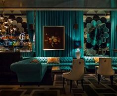 Turquoise Room Decorations – Aqua Exoticness Ideas and Inspirations 2018 is here. Turquoise wall color can make you feel all new :) Turquoise Wall Decor, Turquoise Walls, Bedroom Turquoise, Turquoise Decorations, Room Decorations, Design Seeds, Damask Decor, Damask Bedroom, Arquitetura