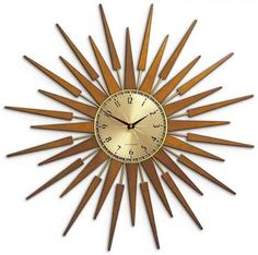 Newgate Clocks : SUNBURST BROWN | Sumally