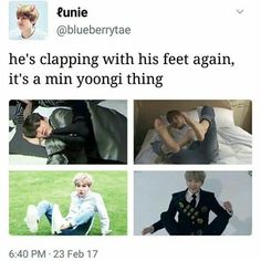 #JustYoongiThings