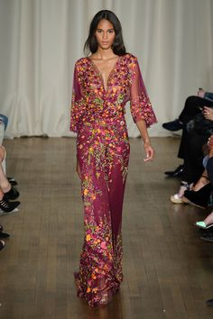 Marchesa Spring 2015 Best Gowns at Fashion Week Spring 2015 | POPSUGAR Fashion