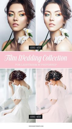 Editing wedding photos has never been easier. If you're asking how to make great looking photos - this dreamy film wedding Lightroom presets is a professional editing tool, used by wedding professionals. You can also download some free examples from our website