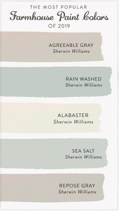 master bedroom paint colors Find the most popular farmhouse paint colors of From alabastar to agreeable gray, check out our list to help you decide the best color for y