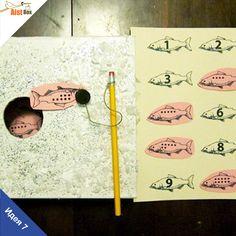 AistBox: 40 идей зимы: учим счёт- подлёдная рыбалка Чтобы легко и весело попрактиковаться в счёте, предлагаем вам с детишками отправится… на рыбалку!) И не на простую, а на подлёдную. Это будет весело и познавательно.