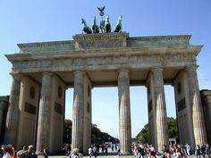 Brandenburger Gate, Berlin, Germany...  Visit us on Facebook:  https://www.facebook.com/groups/imagesfromallovertheworld