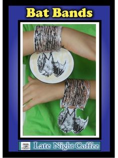 Bat Bands-Nature and Halloween Craft Activity #batcraft #halloweenbat