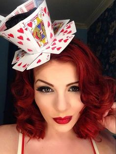 Diy Disney Costumes Queen Of Hearts Fascinator