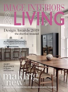 Living Magazine, Home Theater, Design Awards, Mosaic Tiles, September, Interiors, Image, Home Decor, Mosaic Pieces