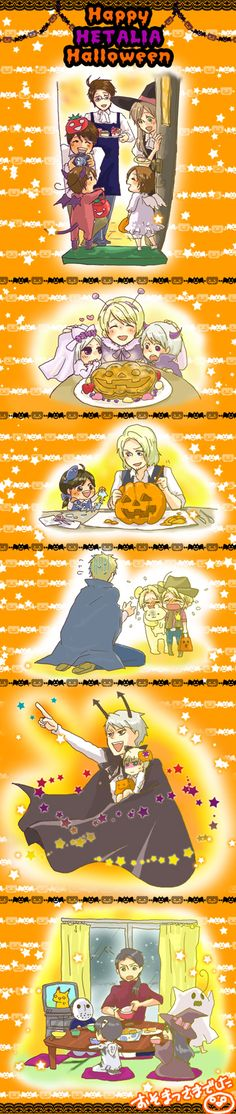 Hetalia Hetaween Halloween the Italy brother costumes suit them so well And there is when Belarus obsession toward her brother star Germany was like why can't my brother be someone else who is more serious