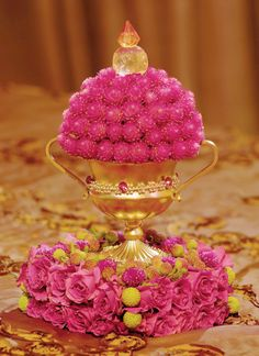 Pink-Roses-Floral-Centerpiece-Decor www.tablescapesbydesign.com https://www.facebook.com/pages/Tablescapes-By-Design/129811416695