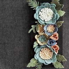 "153 Likes, 18 Comments - Giedra (@mellsvashop) on Instagram: ""A close up of my miniature vertical flower garden 😍 Link in bio. #verticalgarden #flowergarden…"""