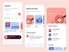 Podcast App Exploration by Ghani Pradita for Paperpillar on Dribbble