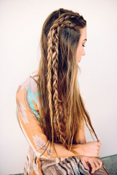 Long boho braids …