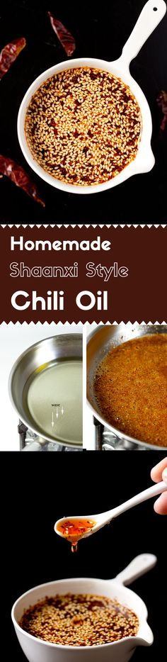 This Shaanxi style chili oil has a strong aromatic hot spicy flavor. It's a key element in many authentic Chinese salad, soup, and noodle dishes. via @lightorangebean