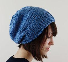 Slouchy Hat Slouchy Beanie Hat Slouchy Hat For Women Knit by zukas, $35.00