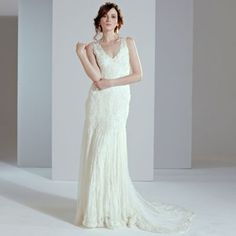 Phase Eight Ivory gardenia wedding dress- at Debenhams.com