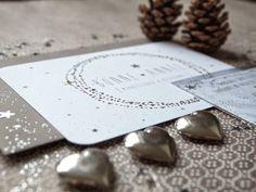 * Ma Carte de Voeux ... étoilée ... Création: Les étoiles grises http://lesetoilesgrises.blogspot.fr/2014/12/mes-cartes-de-voeux-etoilees.html