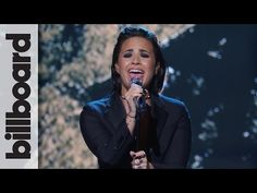 Demi Lovato play Stone Cold on Billboard Women In Music 2015