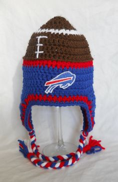 Buffalo Bills Logo Crochet Graphghan Pattern By
