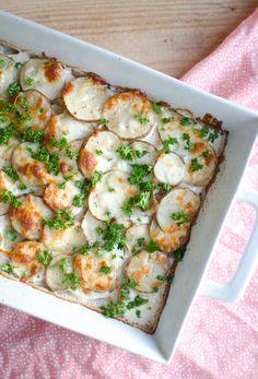 | gourmet au gratin potatoes |
