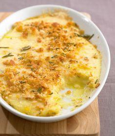 Baked Polenta - Home Made Pastâ Baked Polenta, Polenta Recipes, Vegetable Recipes, Vegetarian Recipes, Cooking Recipes, Recipe For 2 People, Homemade Pasta, Top Recipes, One Pot Meals