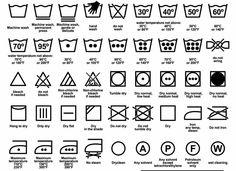 Su tutti i capi che indossiamo ci sono delle etichette sulle quali sono riportate le modalità di lavaggio. Sappiamo leggere quei simboli? Impariamo a farlo per non rovinare i nostri vestiti.