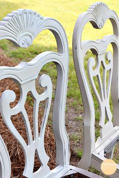 how to spray paint dining chairs | spray painting, dining chairs