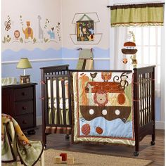 Noah's Ark Nursery Theme = Babies R Us - for boy.... My grammy would love this!!