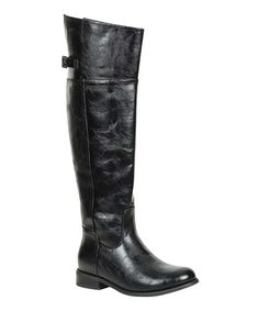 Take a look at this Breckelle's Black Rider-82 Boot on zulily today!