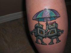 My own Tattoo. Robot Love <3