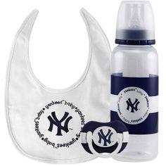 New York Yankees Infant Three-Piece Gift Set