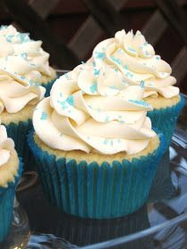 Burn Me Not: Vanilla Cupcakes with Buttercream Frosting