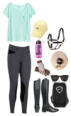"""""""Working Student"""" by justjumpit ❤ liked on Polyvore featuring H&M, Chaps, NIKE and Victoria's Secret PINK"""